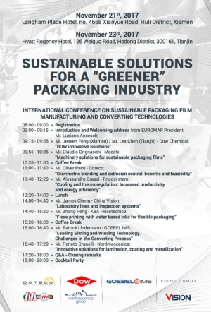 "Sustainable Solutions For A ""greener"" Packaging Industry"