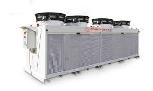 Dry coolers in cooling plants